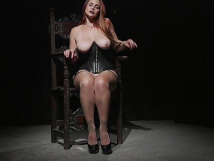 Curvy ass MILF reveals will not hear of kinky side in intriguing solo scenes