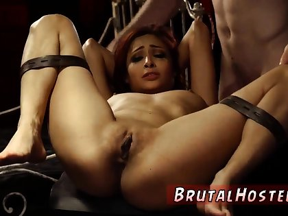 Outdoor bondage woods and brutal gangbang Poor fusty Jade